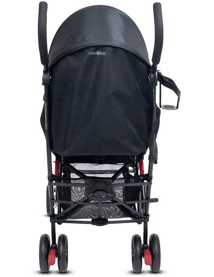 Buz 108cm Reclining/Foldable Stroller/Pram Baby/Infant 0m+ Raspberry Red image 5