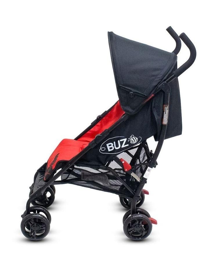 Buz 108cm Reclining/Foldable Stroller/Pram Baby/Infant 0m+ Raspberry Red image 6