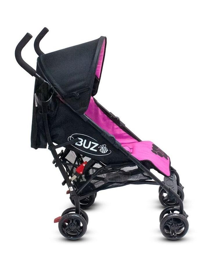 Buz 108cm Reclining/Foldable Stroller/Pram Baby/Infant 0m+ Rose Pink image 2