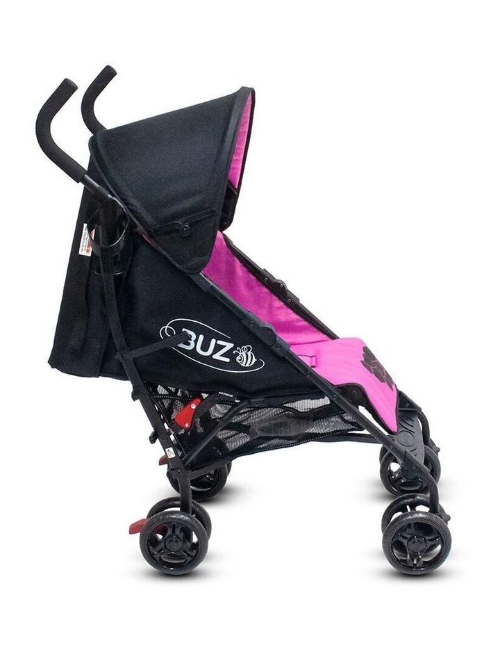 Buz 108cm Reclining/Foldable Stroller/Pram Baby/Infant 0m+ Rose Pink image 3
