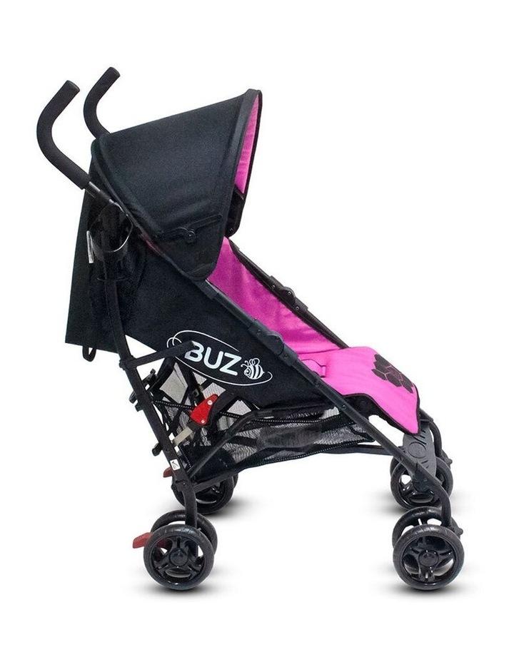Buz 108cm Reclining/Foldable Stroller/Pram Baby/Infant 0m+ Rose Pink image 4