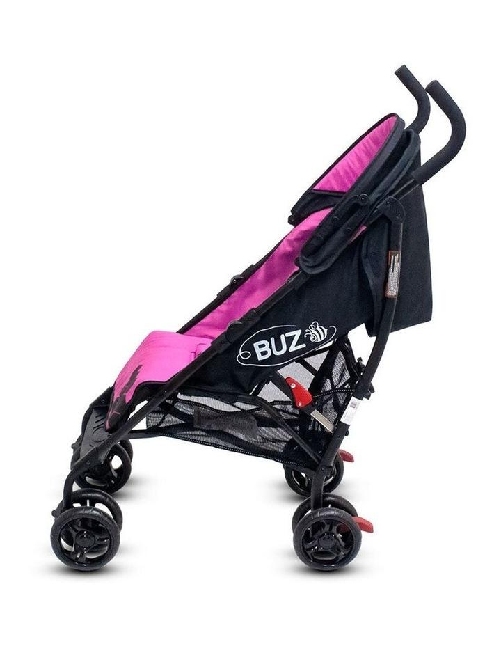 Buz 108cm Reclining/Foldable Stroller/Pram Baby/Infant 0m+ Rose Pink image 6