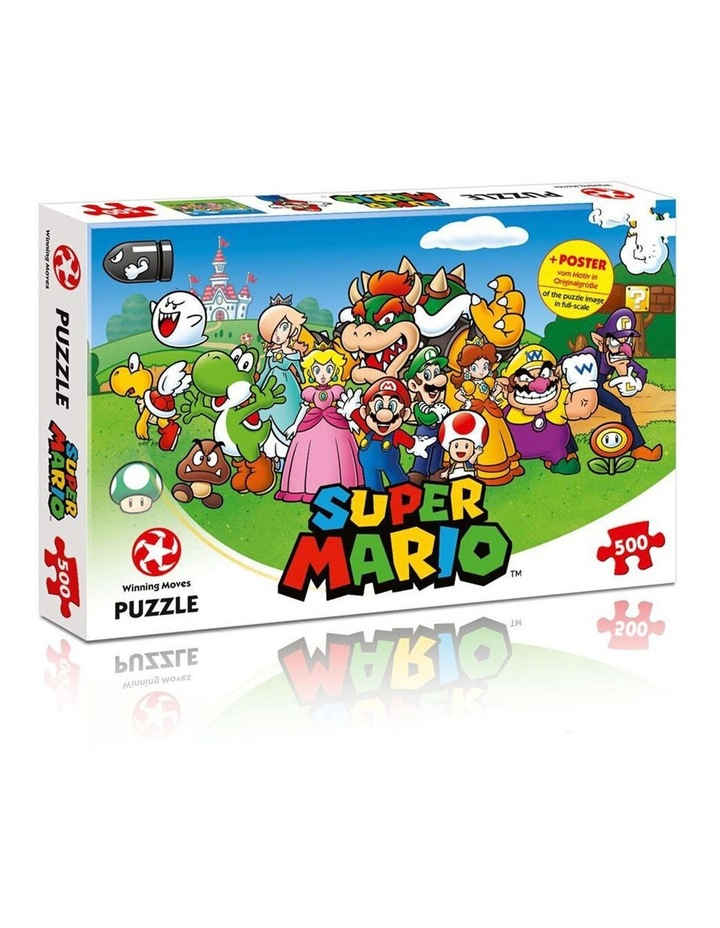 500pc Super Mario 48cm Jigsaw Puzzle Kids/Children 10y+ Educational Game/Toy image 1