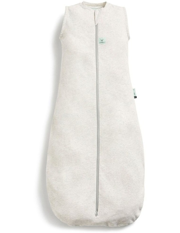 ErgoPouch Jersey Sleeping Bag Baby Organic Cotton TOG 0.2 Size 3-12m Grey Marle image 1