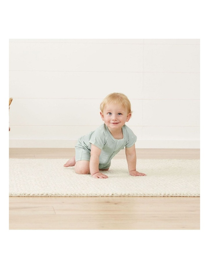 ErgoPouch Layers Short Sleeve Baby Organic Cotton TOG 0.2 Size 0-3 Months Sage image 3
