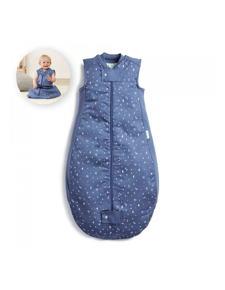 ErgoPouch Sheeting Sleeping Bag Baby Organic Cotton TOG 0.3 Size 2-4 Years Night Sky image 2