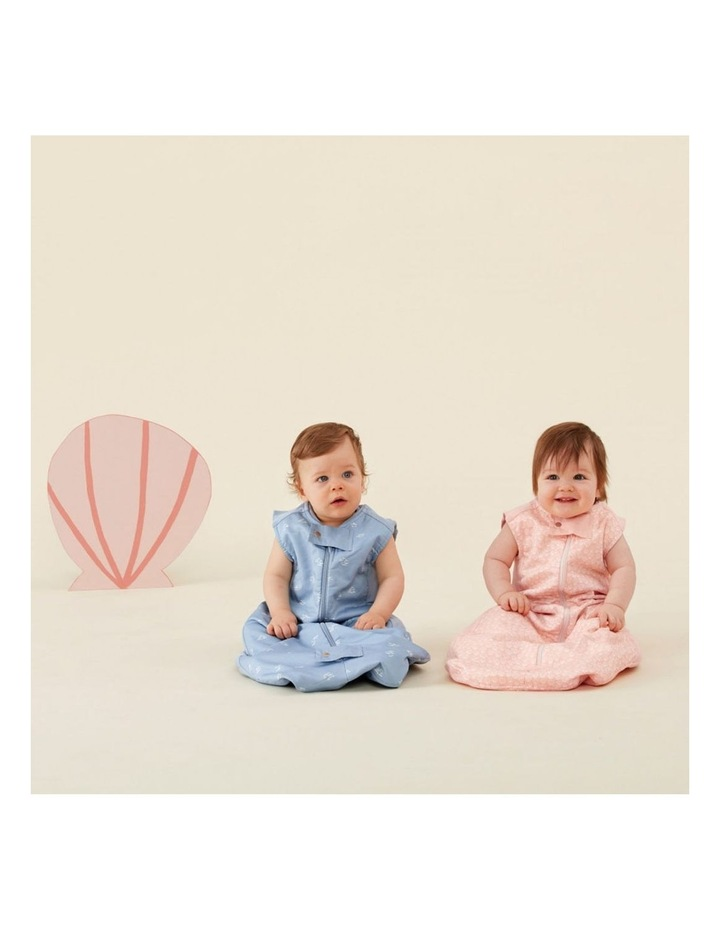 ErgoPouch Sheeting Sleeping Bag Baby Organic Cotton TOG 0.3 Size 2-4 Years Shells image 4