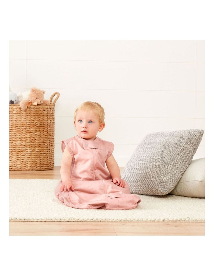 ErgoPouch Sheeting Sleeping Bag Baby Organic Cotton TOG 0.3 Size 8-24m Berries image 3