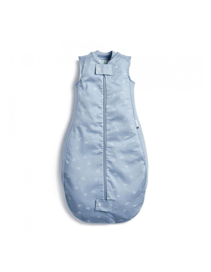 ErgoPouch Sheeting Sleeping Bag Baby Organic Cotton TOG 0.3 Size 8-24m Ripple image 1