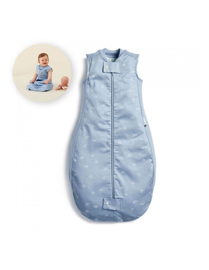 ErgoPouch Sheeting Sleeping Bag Baby Organic Cotton TOG 0.3 Size 8-24m Ripple image 2