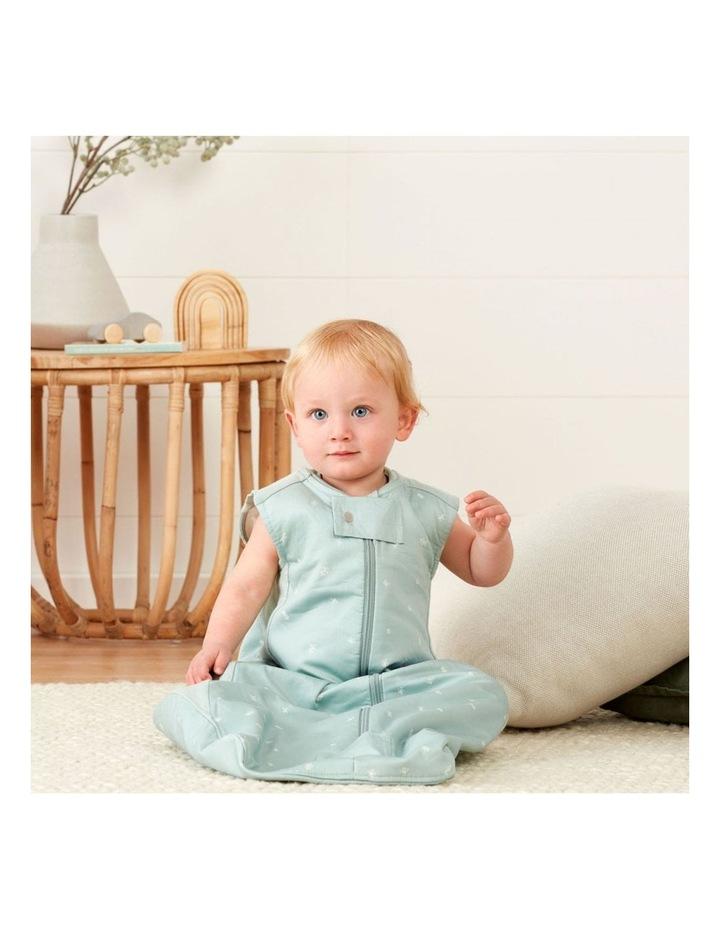 ErgoPouch Sheeting Sleeping Bag Baby Organic Cotton TOG 0.3 Size 8-24m Sage image 5