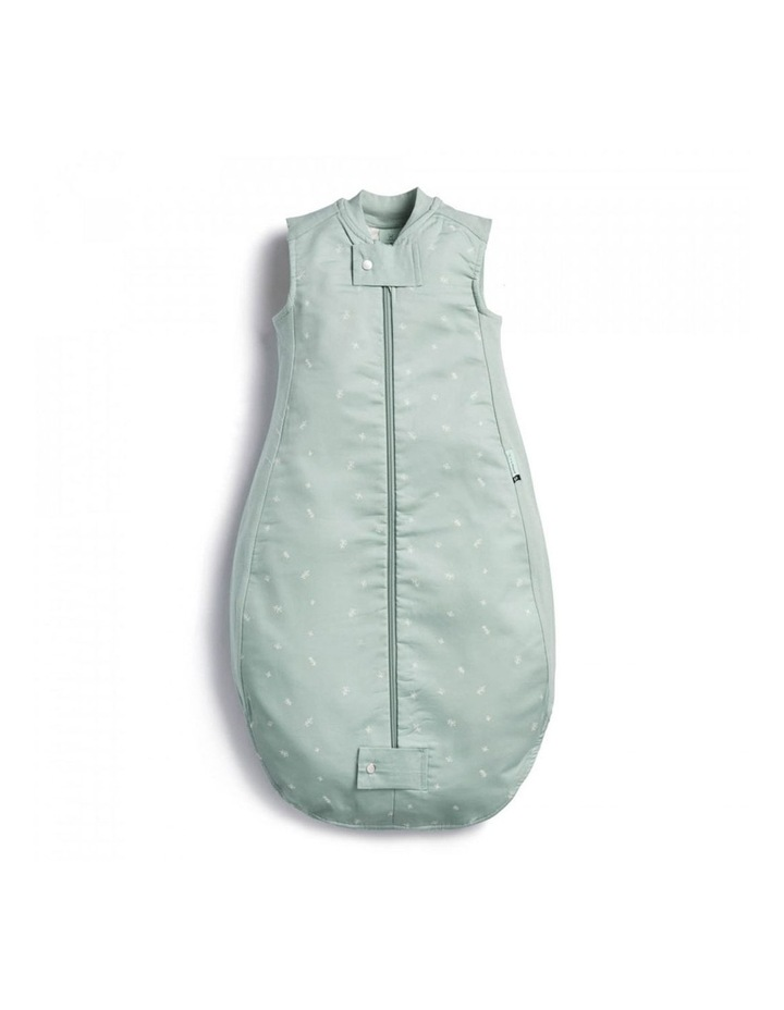 ErgoPouch Sheeting Sleeping Bag Baby Organic Cotton TOG 1.0 Size 2-4 Years Sage image 1