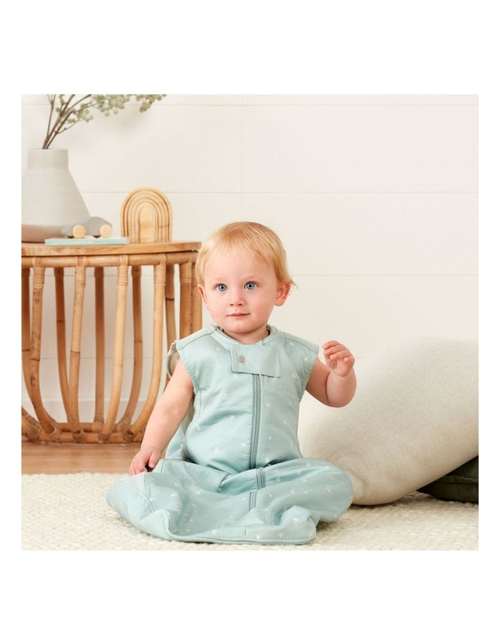 ErgoPouch Sheeting Sleeping Bag Baby Organic Cotton TOG 1.0 Size 2-4 Years Sage image 5