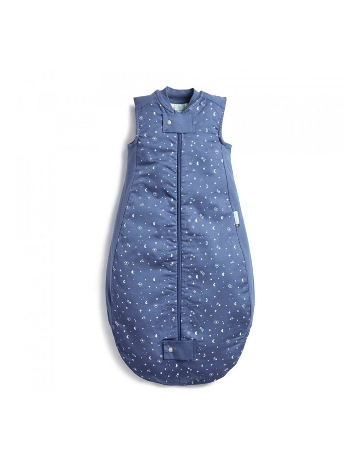 ErgoPouch Sheeting Sleeping Bag Baby Organic Cotton TOG 1.0 Size 8-24m Night Sky image 1
