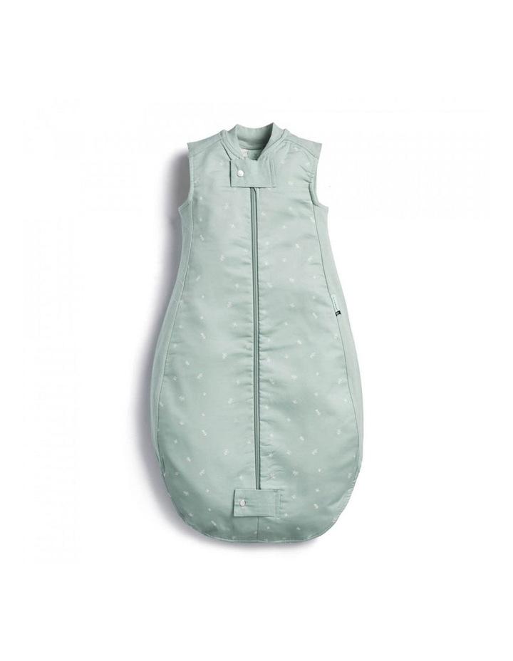 ErgoPouch Sheeting Sleeping Bag Baby Organic Cotton TOG 1.0 Size 8-24m Sage image 1