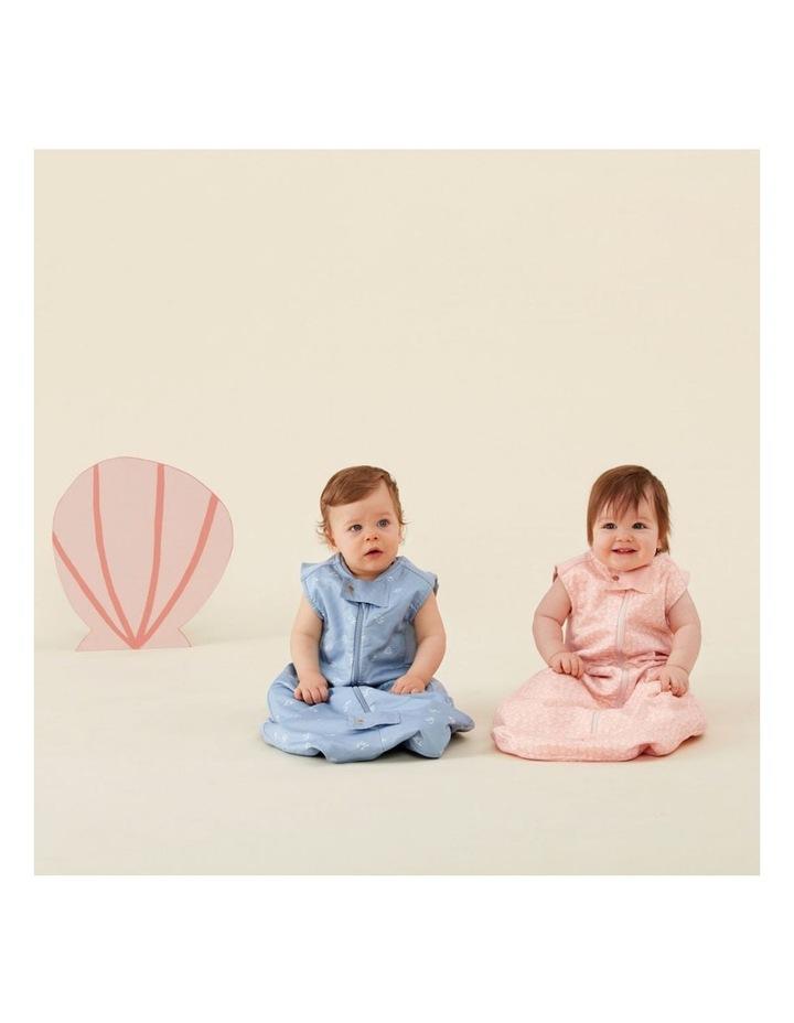 ErgoPouch Sheeting Sleeping Bag Baby Organic Cotton TOG 1.0 Size 8-24m Shells image 4