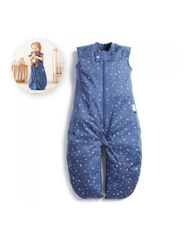 ErgoPouch Sleep Suit Bag Baby Organic Cotton TOG 0.3 Size 2-4 Years Night Sky image 2