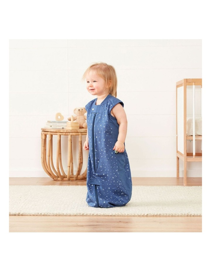 ErgoPouch Sleep Suit Bag Baby Organic Cotton TOG 0.3 Size 2-4 Years Night Sky image 5