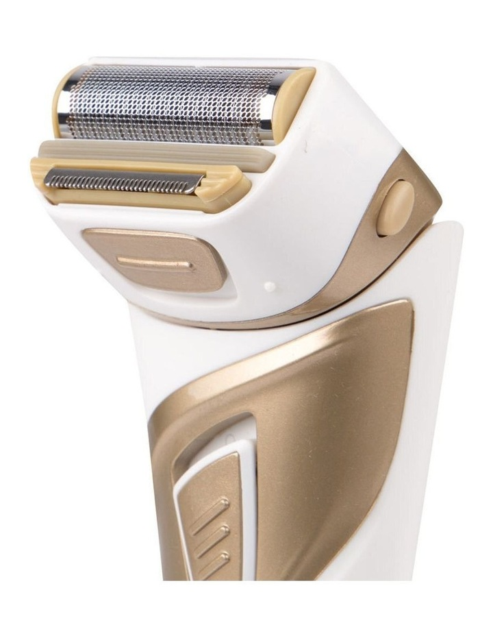 Vivitar Lady's Flex Cordless Care Shaver Grooming/Trimmer Wet/Dry Women Gold image 2