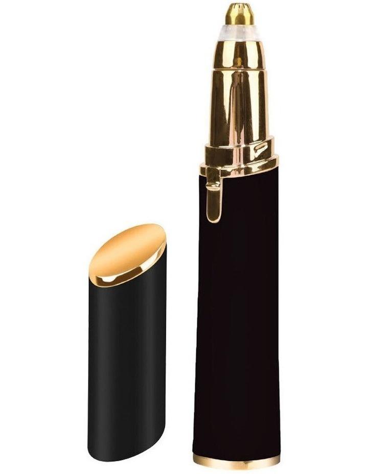 Vivitar Simply Beautiful Painless Eyebrow Hair Remover/Razor with LED Light Black image 1