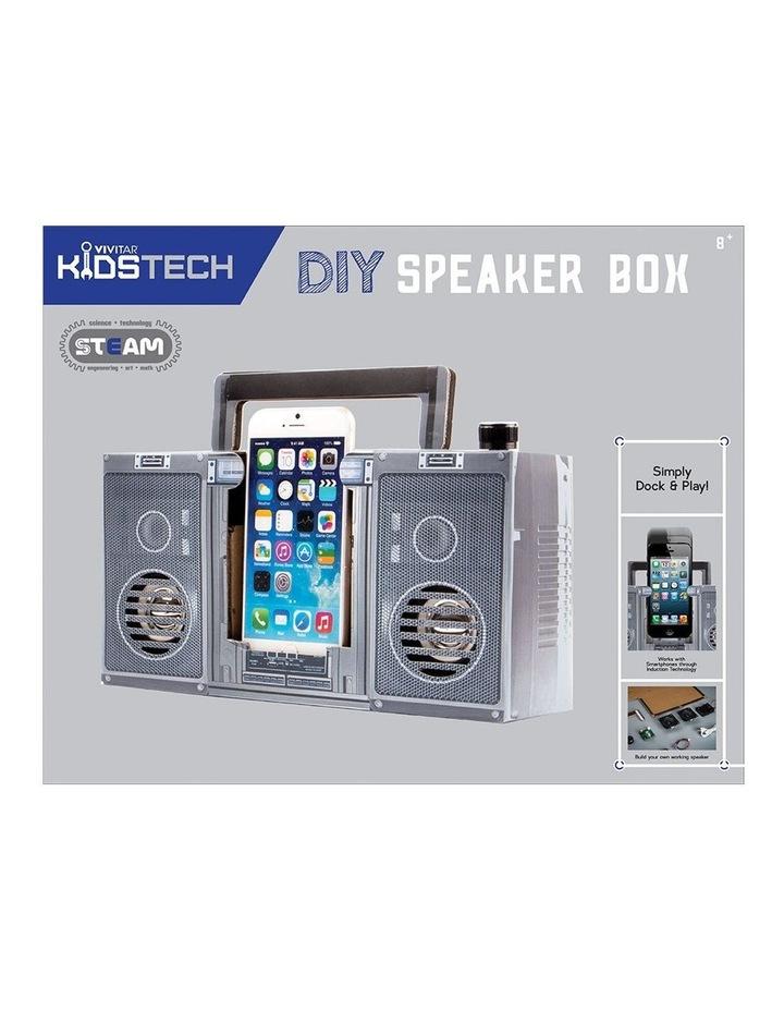 Kids Tech Portable DIY Speaker Box for Smartphones image 3