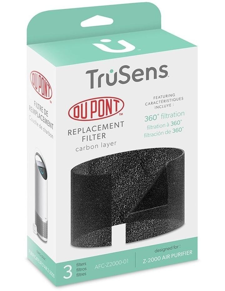 3 Pack Trusens Dust/Odour Capture Carbon Replacement Filter for Z2000 Air Purifier image 3