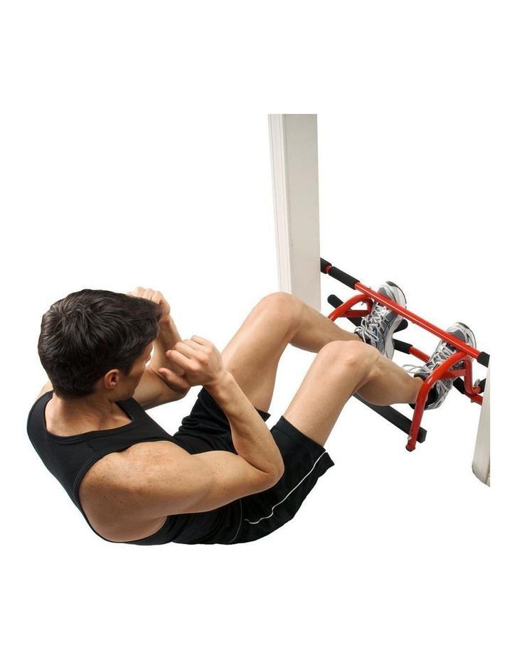 Portable 91cm Elevated Fitness Bar in Red image 3