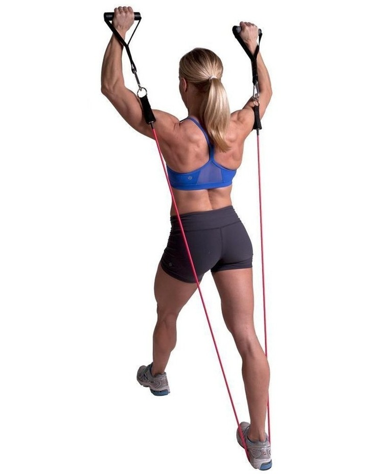 Gym Power Tube For Strength Training Red image 2