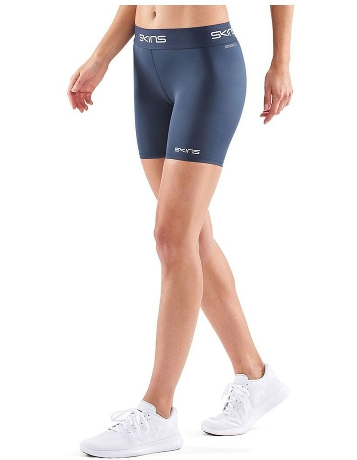 Compression DNAmic Force Womens Half Tights Sport Activewear/Gym Blue Large image 1