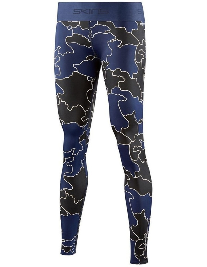 Compression DNAmic Force MOC Primary Womens Blue Long Tights image 1