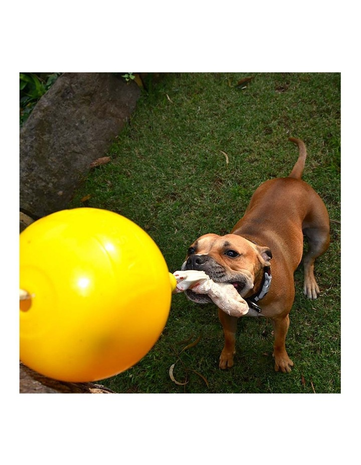 Home Alone Pet Interactive Dog Toy Ball Food Dispenser Large  30-50kg image 5