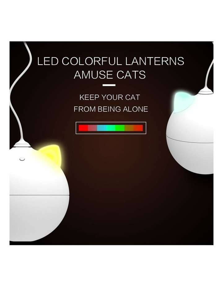 LED Roly Poly Battery Powered Cat/Kitten/Pets Interactive Teasing Toy image 2