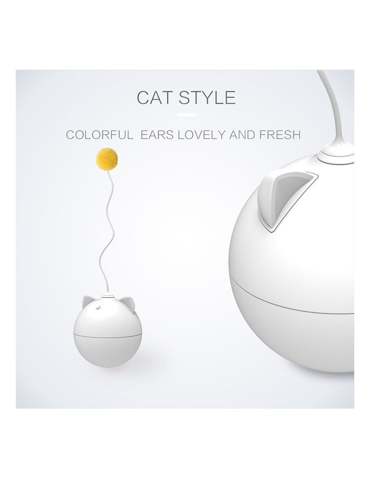 LED Roly Poly Battery Powered Cat/Kitten/Pets Interactive Teasing Toy image 5