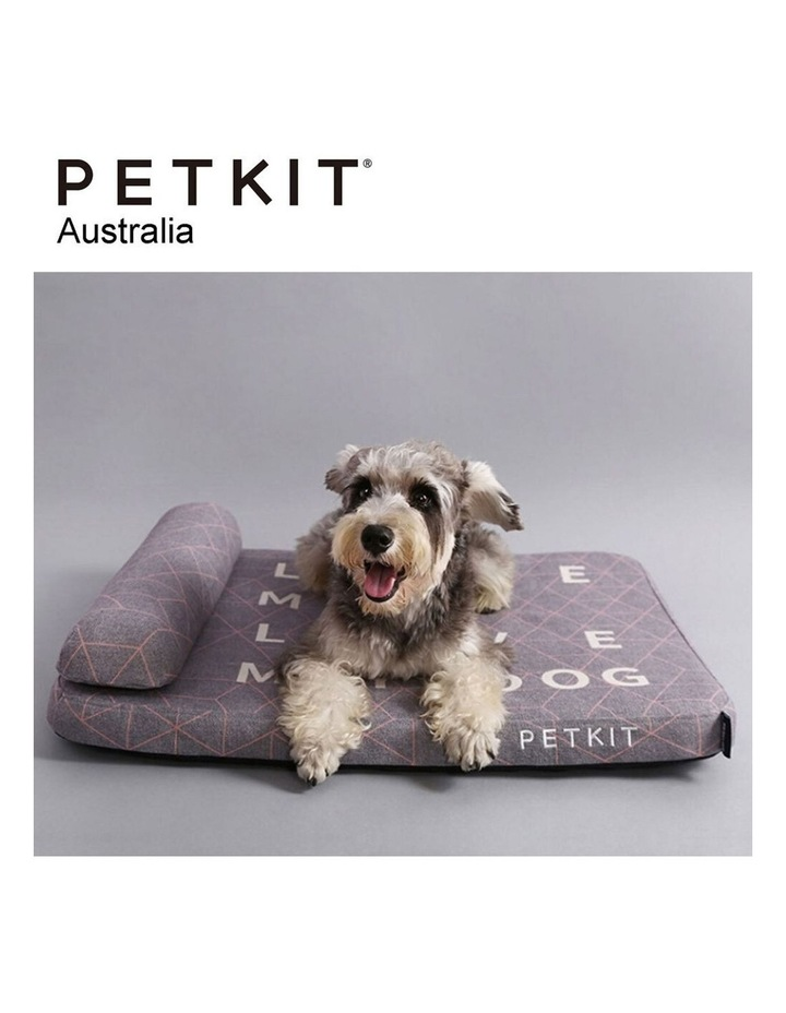 Deep Sleep Replacement Cover for Pet/Dog Bed Mattress Grey Large 90cm image 2