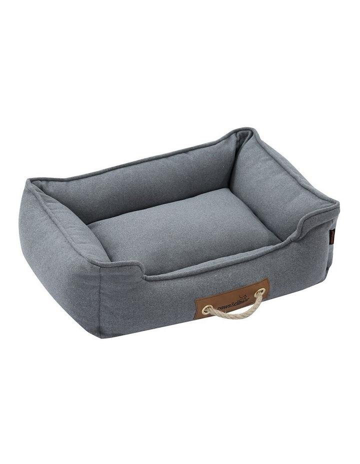 Lighthouse Pet/Dog  Walled Foam Cushion Bed Grey Speckle Medium 60cm image 1