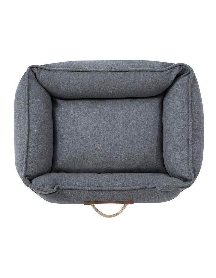 Lighthouse Pet/Dog  Walled Foam Cushion Bed Grey Speckle Medium 60cm image 4