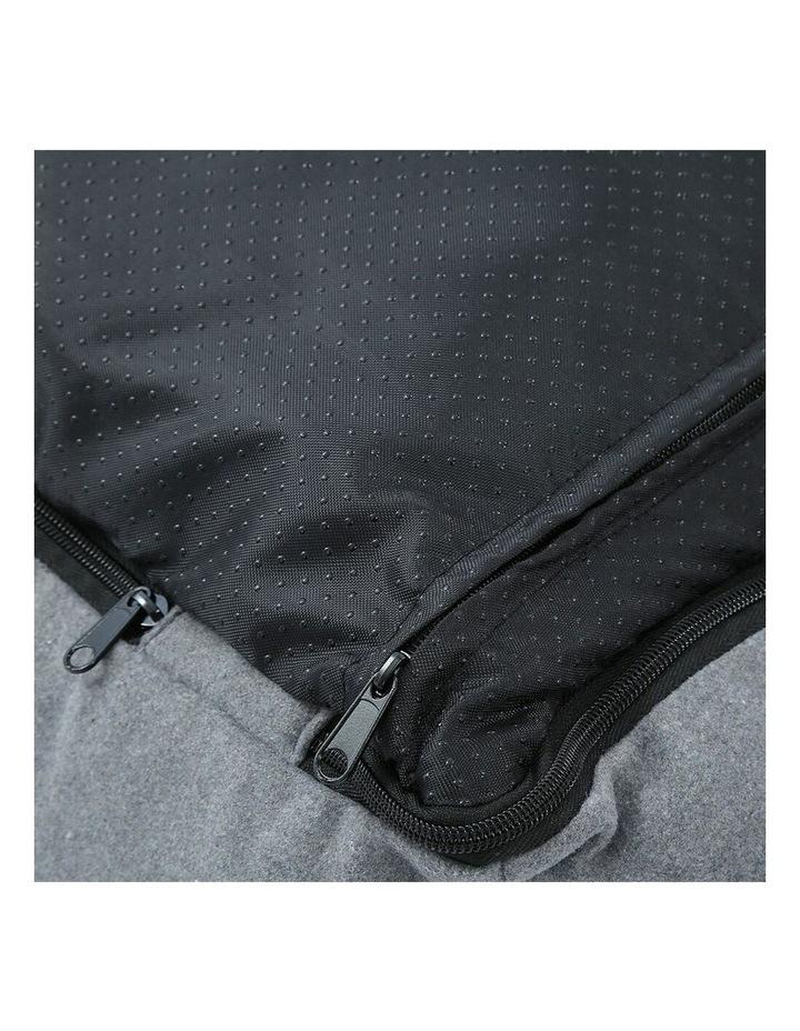 Lighthouse Pet/Dog  Walled Foam Cushion Bed Grey Speckle Medium 60cm image 6