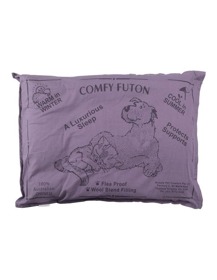 Aussie Comfort Dog Bed Futon Pet/Puppy Sleeping Cushion Pillow Mat Small Grey 74cm image 1
