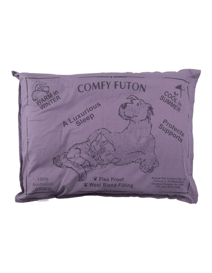 Aussie Comfort Dog Bed Futon Pet/Puppy Sleeping Cushion Pillow Mat Medium Grey 90cm image 1