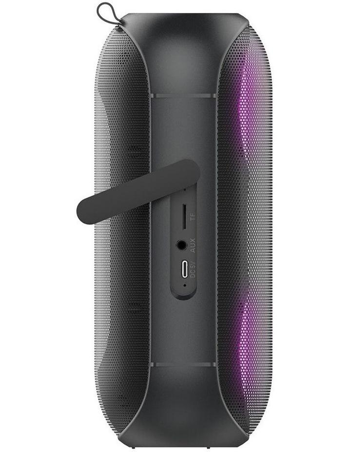 Bump B2 Black 14W Portable Wireless Bluetooth RGB Speaker image 2