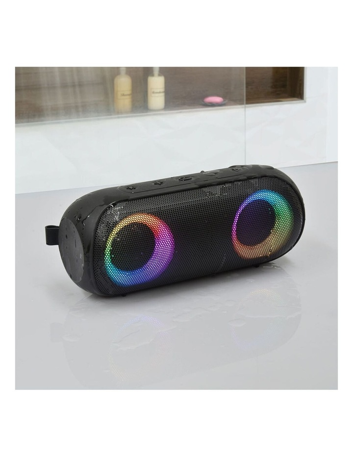 Bump B2 Black 14W Portable Wireless Bluetooth RGB Speaker image 6