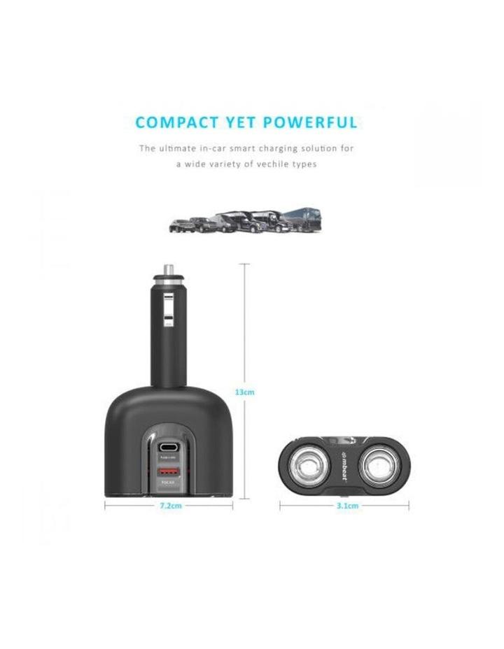 Gorilla Power Dual USB-C PD & QC3.0 Car Charger image 2