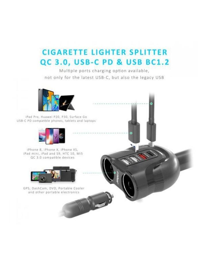 Gorilla Power 4 Port USB-C PD & QC3.0 Car Phone Charger image 4