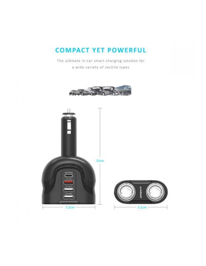 Gorilla Power 4 Port USB-C PD & QC3.0 Car Phone Charger image 5