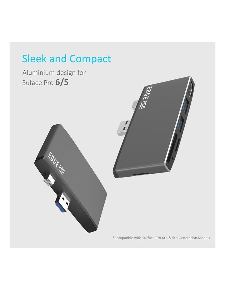 Edge Pro P78 Multifunction USB Hub/Adapter For Microsoft Surface Pro Gen 5/6 image 2