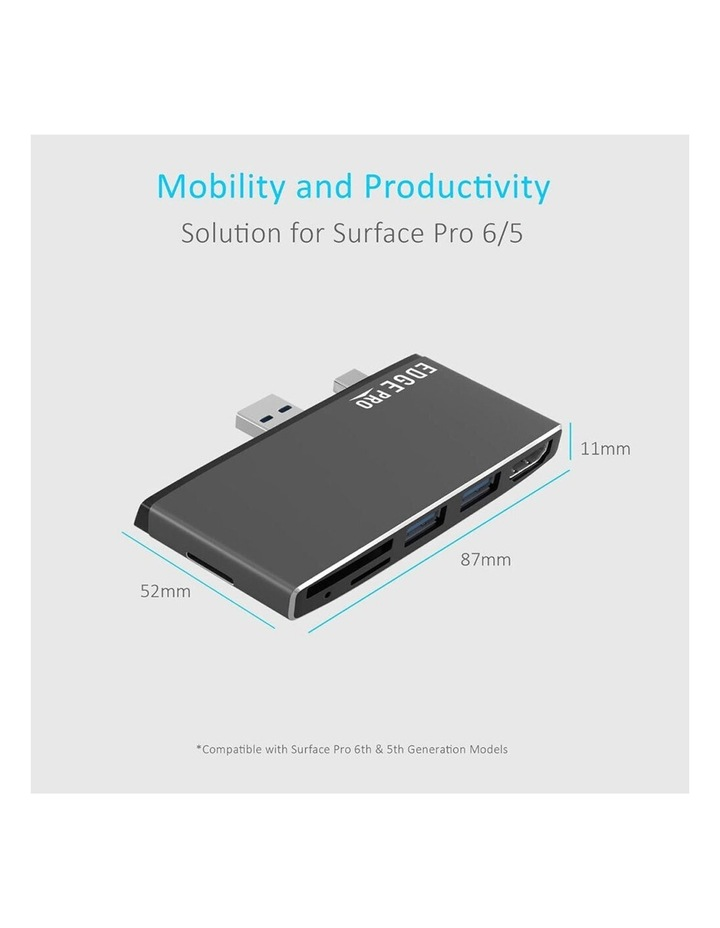 Edge Pro P78 Multifunction USB Hub/Adapter For Microsoft Surface Pro Gen 5/6 image 5