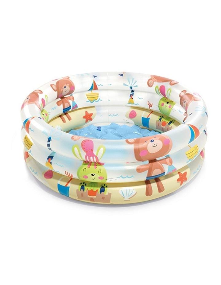 Beach Buddies 61x22cm 3 Ring Inflatable Kids Swimming Pool image 1