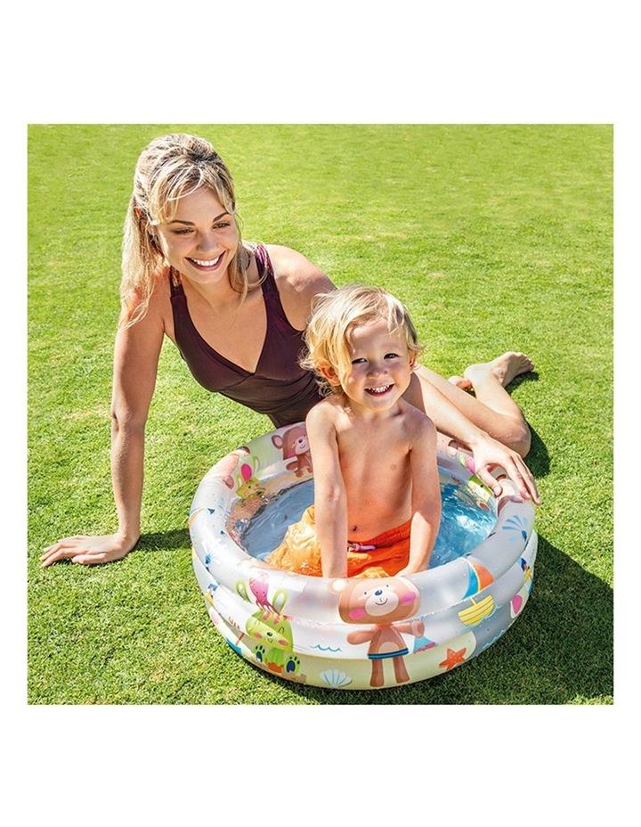 Beach Buddies 61x22cm 3 Ring Inflatable Kids Swimming Pool image 2