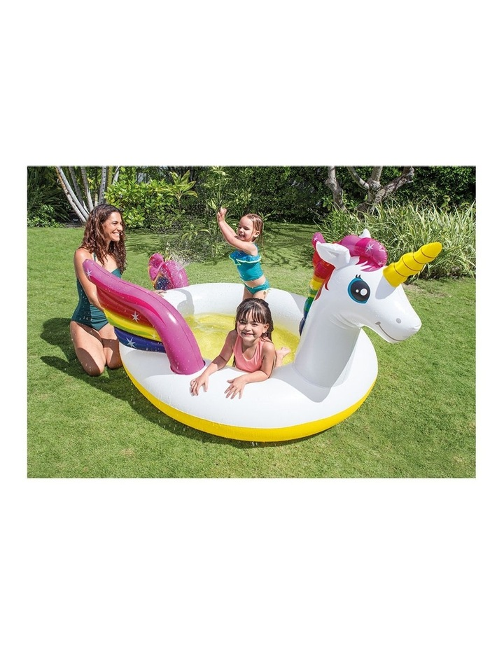Mystic Unicorn 2.7m Inflatable Kids Spray Swimming Pool image 2