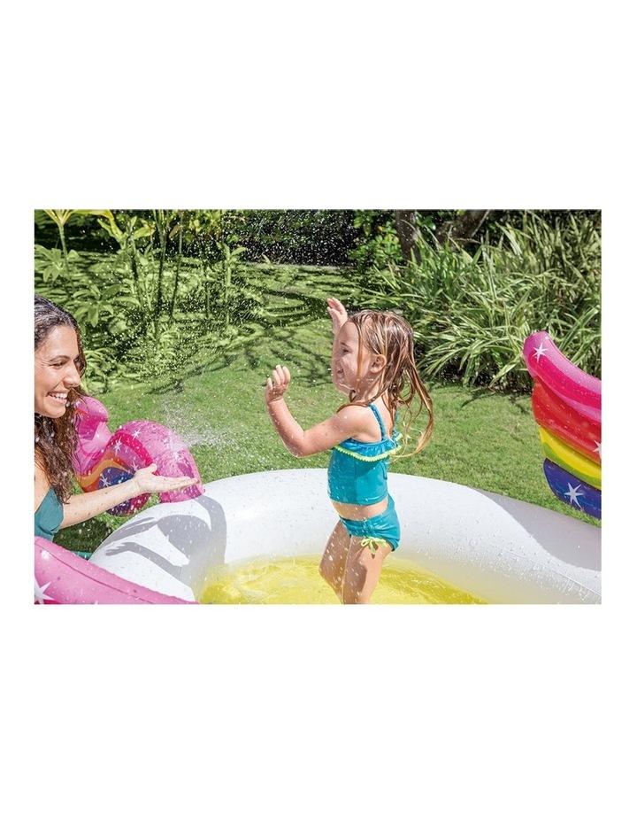 Mystic Unicorn 2.7m Inflatable Kids Spray Swimming Pool image 3
